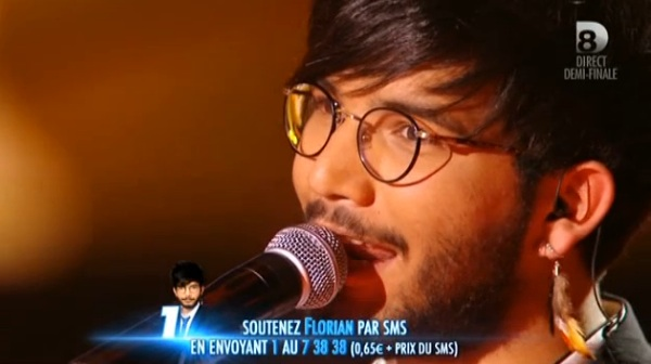Florian chante Nights in White Satin dans Nouvelle Star