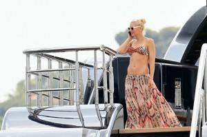 Gwen stefani en maillot de bain