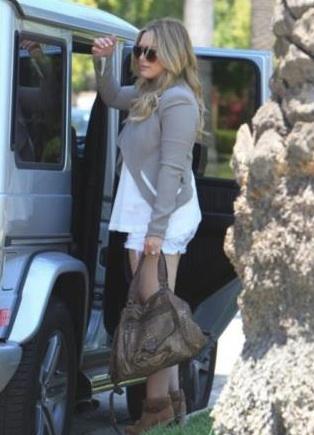 Hilary Duff sac Abaco