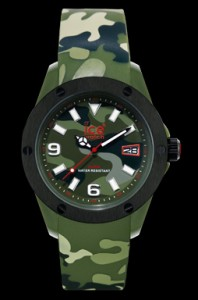 Ice-Watch camouflage