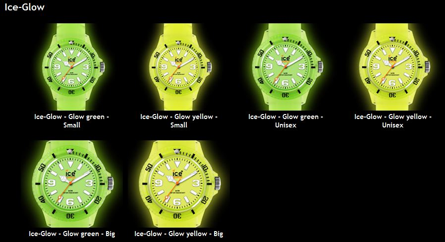 Ice- Watch Glow Fluorescente