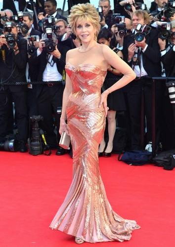 Jane Fonda à Cannes