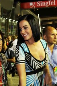 Katy Perry à Singapour