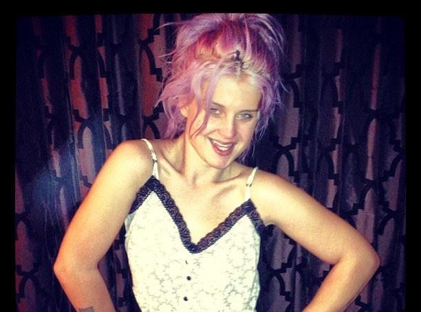 Kelly Osbourne sans maquillage