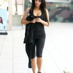 La robe transparente de Kim Kardashian