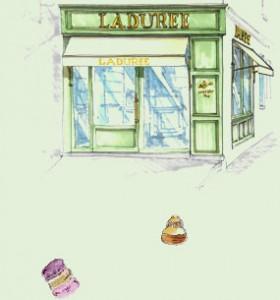 Boutique Ladurée de Saint -Tropez