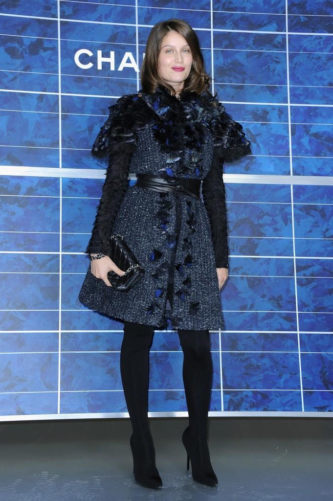 Laetitia Casta au défilé Chanel