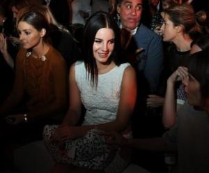 Lana Del Rey au défilé  Mulberry