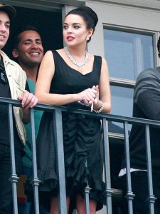 Lindsay Lohan en Elizabeth Taylor