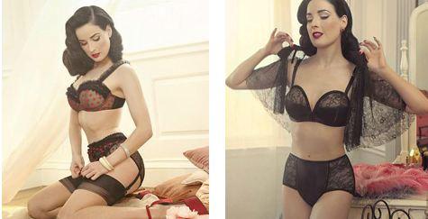Lingerie sexy Dita Von Teese