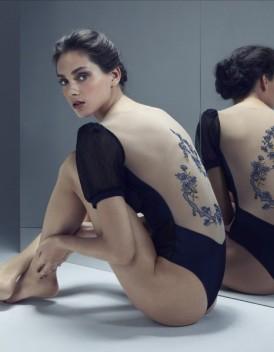 Collection de lingerie fine Guerlain et Absolutely Pôm