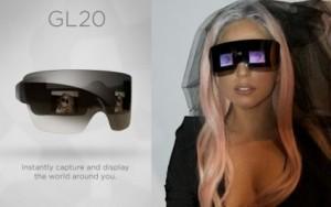 Lunettes appareil photo de Lady Gaga