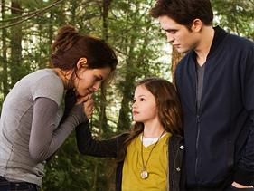 Mackenzie Foy dans Twilight Breaking Dawn – Part 2