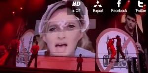 Madonna contre Marine Le Pen