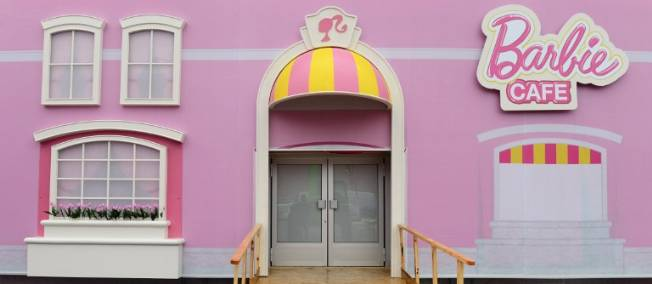 Maison de Barbie géante à Berlin
