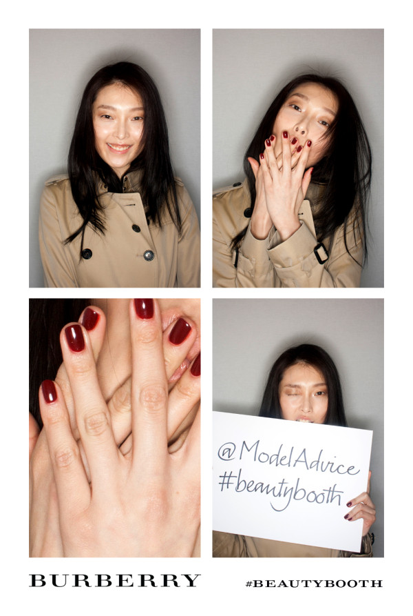 Maquillage Trench Kisses et vernis Nail Polish Burberry