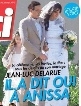 Mariage de Jean-Luc Delarue et Anissa Kehl