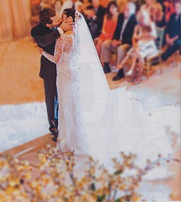 Robe de mariée de Camila Alves