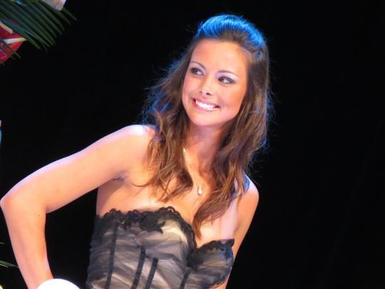 Marine Lorphelin dauphine Miss Monde