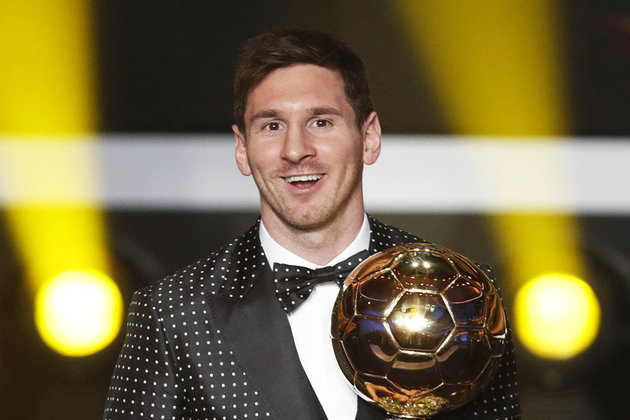 Messi ballon d or1 Le costume de Lionel Messi pour le Ballon dOr