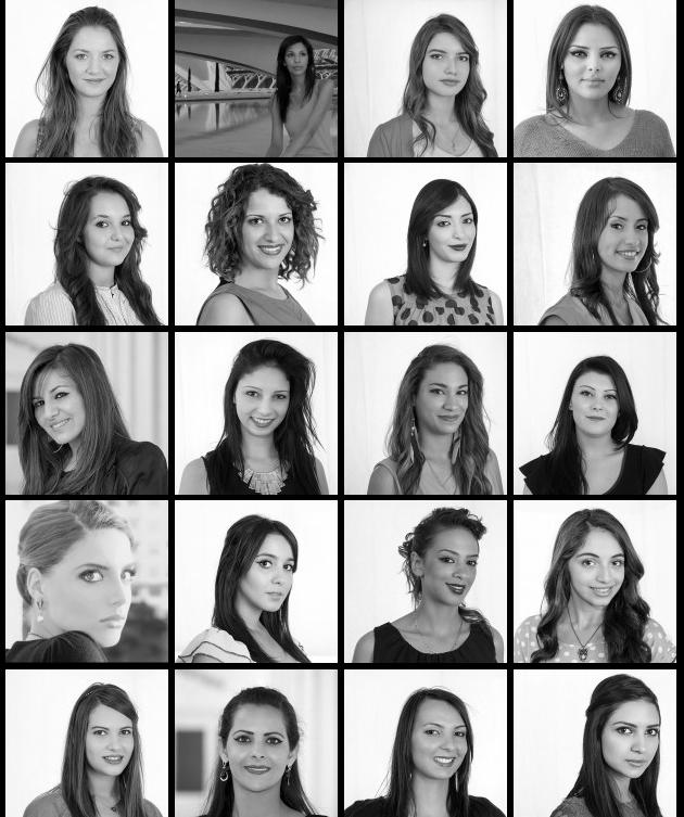 Miss Algérie 2013 élue par Geneviève de Fontenay