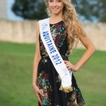 Miss Auvergne : Océane Faure , candidate Miss France