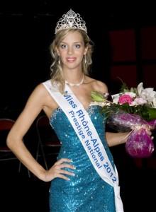 Miss Dauphiné Rhône-Alpes 2012, concours Miss Prestige National 2013