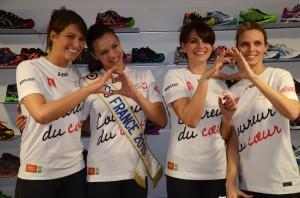 Miss France au Marathon de Paris