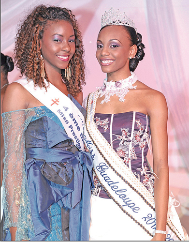 Miss Guadeloupe 2012, concours Miss Prestige National 2013