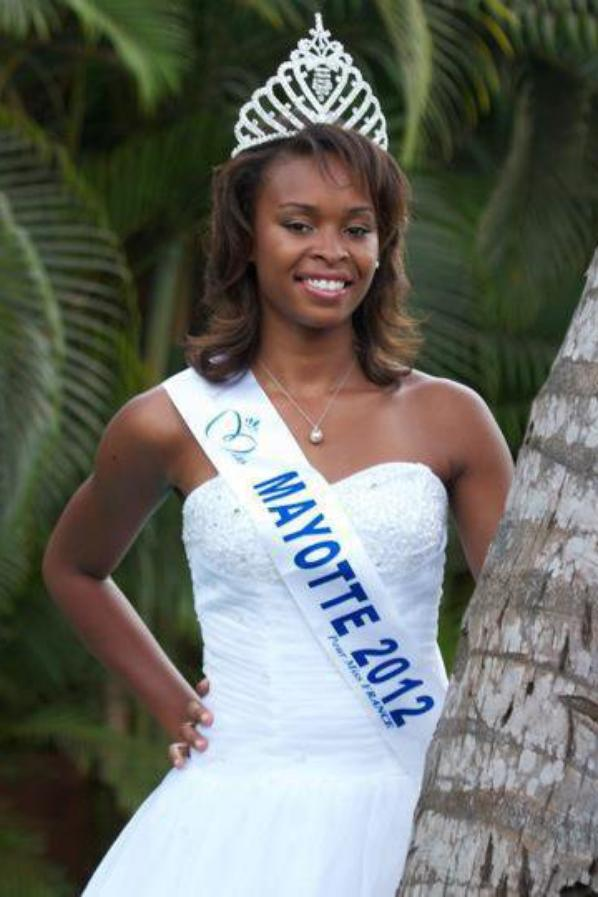 Miss Mayotte 2012, concours Miss France 2013