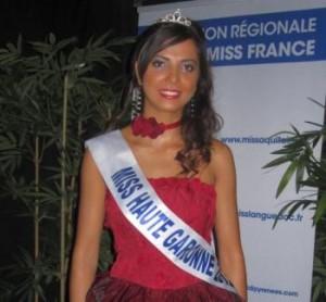 Miss Midi-Pyrénées 2012, concours Miss France 2013