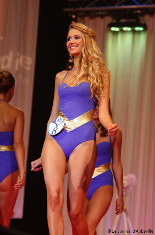 Miss Picardie 2012, concours Miss France 2013