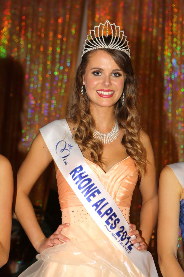 Miss Rhône-Alpes 2012, concours Miss France 2013