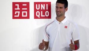 Novak Djokovic ambassadeur  d' Uniqlo