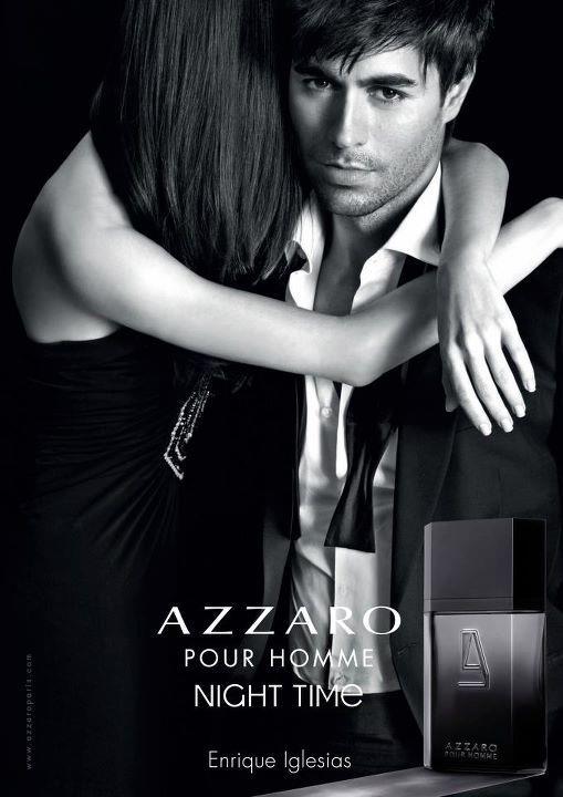 Pub parfum Night Time avec Enrique Iglesias
