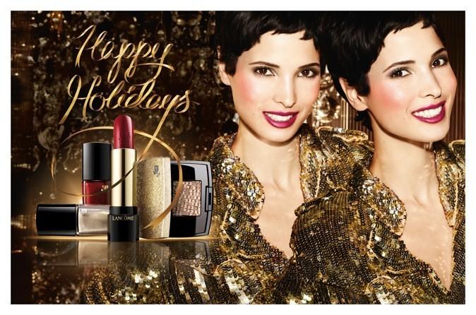 Pub maquillage Lancôme avec Hanaa Ben Abdesslem