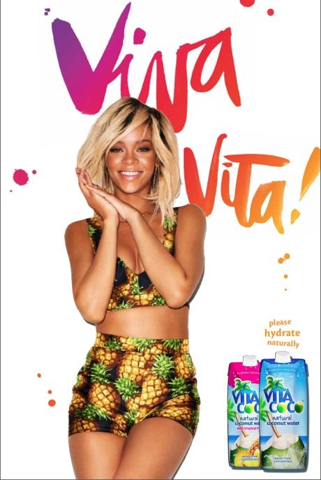 Rihanna pour New Vita