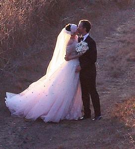Robe de mariée d'Anne Hathaway