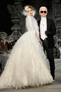 Robe de mariée Chanel Hiver 2012 / 2013