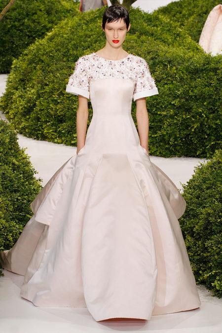 Robe de mariée Christian Dior Printemps-Eté 2013