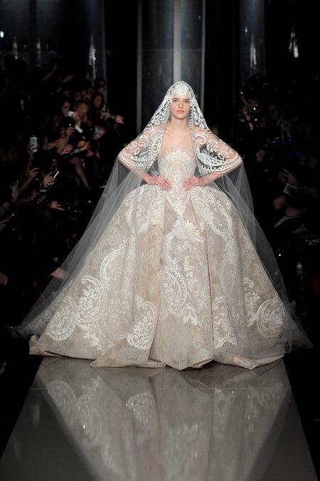 Robe de mariée Elie Saab Printemps- Eté 2013