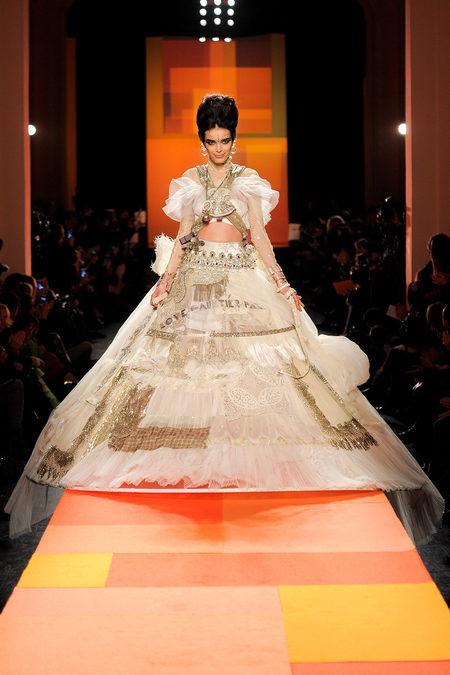 Robe de mariée Couture Jean-Paul Gaultier Eté 2013