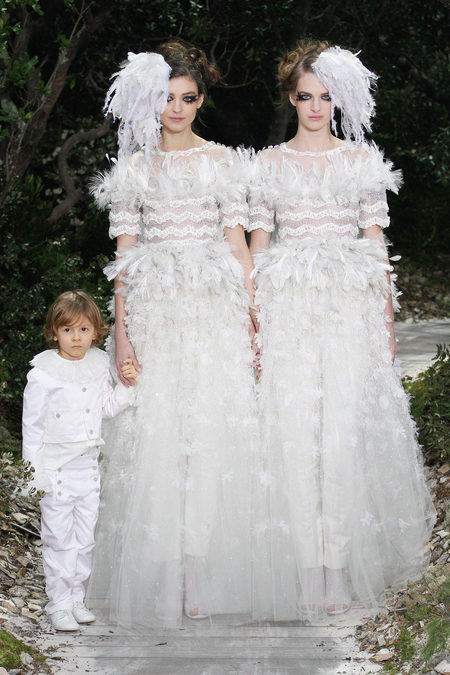 Robe de mariée Chanel Haute Couture Eté 2013