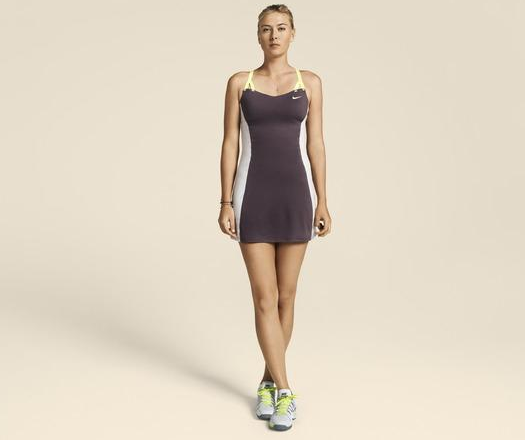 robe de tennis maria sharapova pour nike. Black Bedroom Furniture Sets. Home Design Ideas