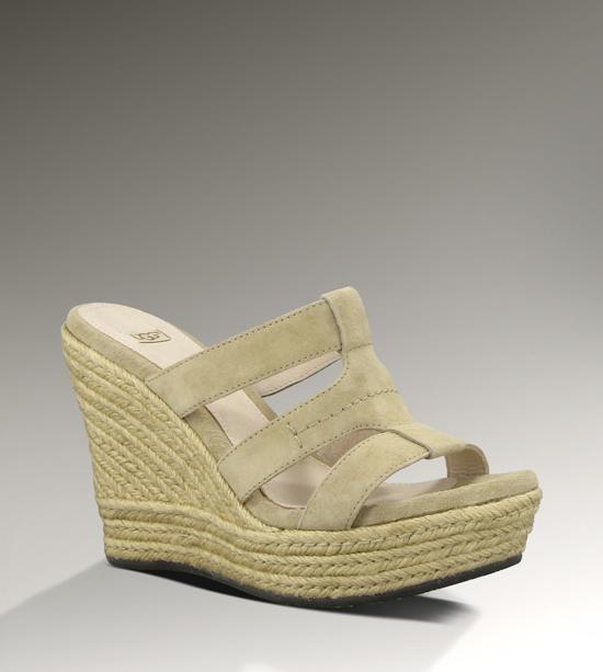ugg sandales compensées