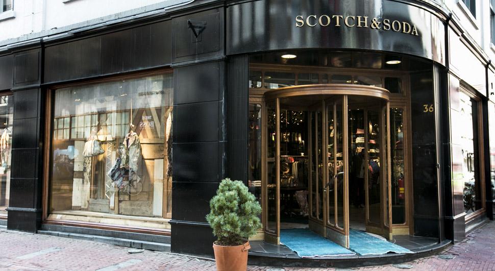 Boutique Scotch & Soda à Paris