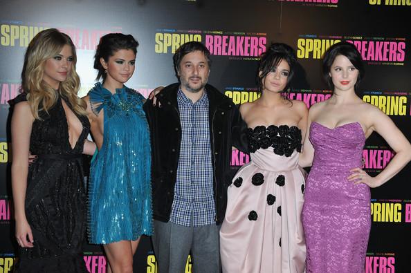 Selena Gomez au Grand Rex pour Spring Breakers