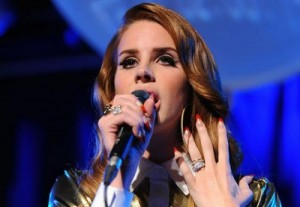 Stickers pour ongles Mulberry façon Lana Del Rey