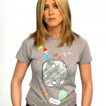 T-shirt de Jennifer Aniston contre le cancer du sein