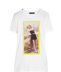 T-shirt photo de star de Dolce & Gabbana